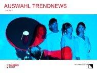 AUSWAHL TRENDNEWS - Goldbach Group