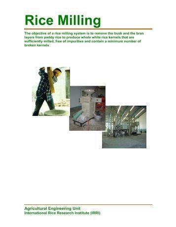 the rice plant soil water system rice knowledge bank rh yumpu com Bridgeport Milling Machine Manual PDF New Manual Milling Machines