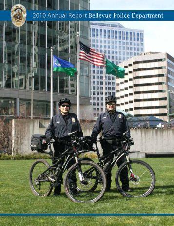 2010 Annual Report Bellevue Police Department - City of Bellevue