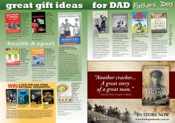 great gift ideas for DAD - Good Reading Magazine