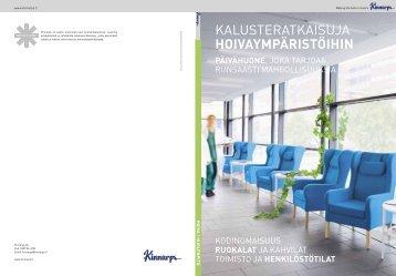 Kodinomaisen asumisen ja hoivaympäristön tuotteet (pdf) - Kinnarps