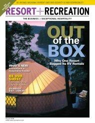 Contents - Resort + Recreation Magazine