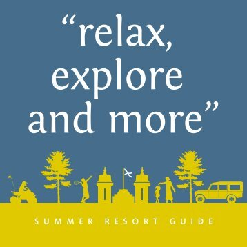 Download our Resort Guide - Crieff Hydro