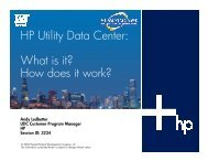 HP Utility Data Center: W hat is it? How does it work? - OpenMPE