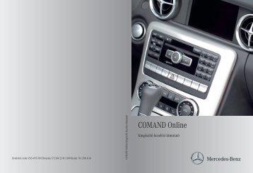 Mercedes-Benz COMAND Online kiegészítő kezelési útmutató ...