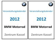 BMW Motorrad BMW Motorrad Zentrum Kassel ... - SG Stern Kassel