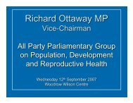 Richard Ottaway MP - Woodrow Wilson International Center for ...