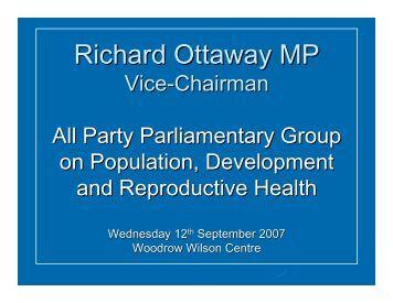 Richard Ottaway MP - Woodrow Wilson International Center for ...