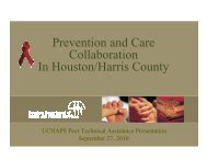 Prevention and Care Collaboration In Houston/Harris County