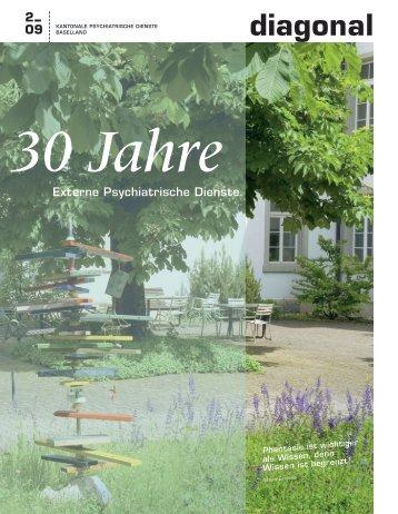 diagonal 2009-3 (pdf, 3.9Mb) - Psychiatrie Baselland PBL