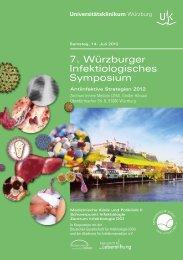 7. Würzburger Infektiologisches Symposium - Universitätsklinikum ...