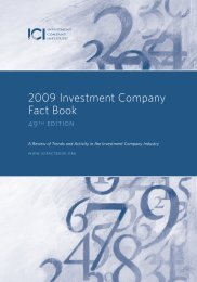 2009 Investment Company Fact Book (pdf) - Interconti, Limited
