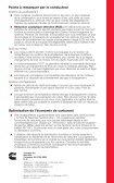 Conseils de conduite - Cummins Engines - Page 6