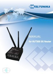 DDS RUT500 Router