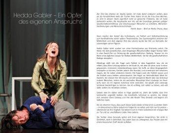 Hedda Gabler - Stadttheater Minden