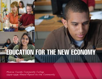 education for the new economy - Monroe County Community College