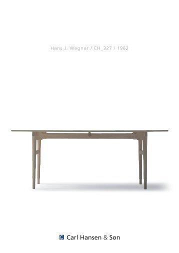Hans J. Wegner / CH_327 / 1962 - Scandinavia design