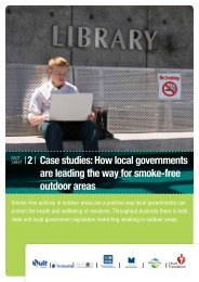 Case studies: How local governments are leading the - Quit Victoria