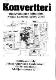 Konvertteri numero 1/2005 - Student Oulu