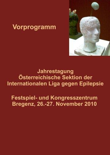 Jahrestagung Österreichische Sektion Der Internationalen Liga Gegen