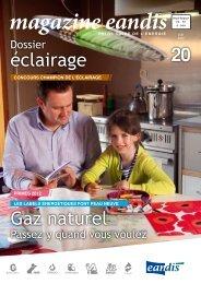 Magazine Eandis 20 - Juin 2012
