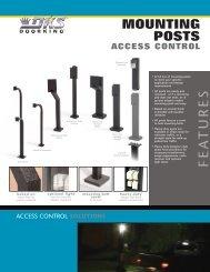 mounting posts - Gate Depot