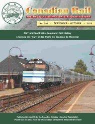 Canadian Rail_no538_2010 - Le musée ferroviaire canadien