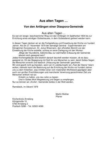 """Aus alten Tagen … - Unter """"www.kaffeestuebchen.eu"""""""