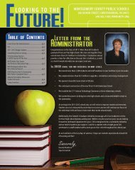 August 2011 Community Newsletter - Montgomery County Public ...