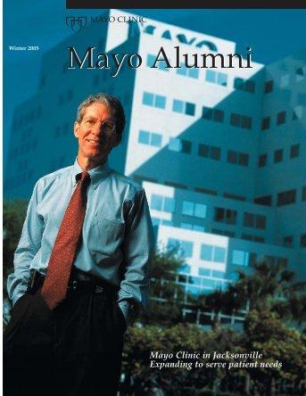 Mayo Alumni Winter 2005 - Mayo Clinic