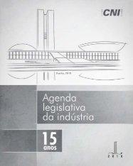 Agenda Legislativa da Indústria 2010 - ABCE