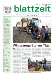 blattzeit, Ausgabe 18-13.pdf - Landesjagdverband Nordrhein ...