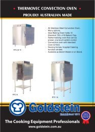 Thermovec Covection Oven - Arafura Catering Equipment