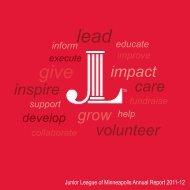 2011-12 Annual Report - Junior League of Minneapolis