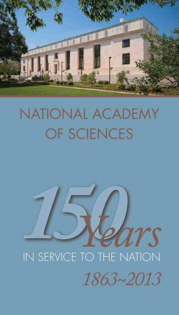 1863~2013 - The National Academies