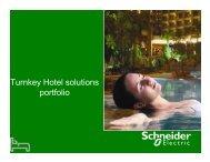 Turnkey Presentation - Schneider Electric