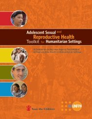 Adolescent Sexual and Reproductive Health Toolkit for - UNFPA