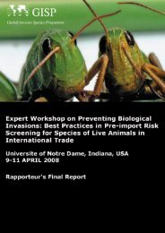 Rapportrur's Final Report - IAS and Animal Screening