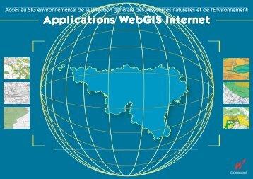 Applications - Portail environnement de Wallonie