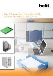 Büro & Organisation - Neuheiten 2013 office and organization ... - Helit