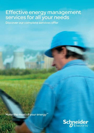 Download our Energy Management Services ... - Schneider Electric