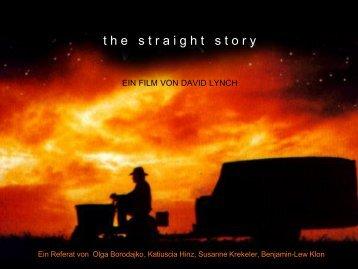 """Folien zu """"The Straight Story"""" - horn-netz.de"""