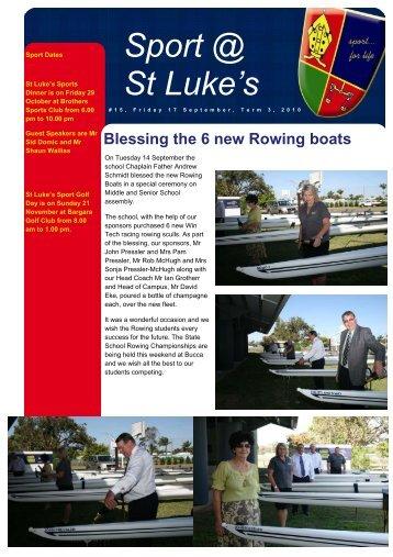 Issue 15 - St Luke's Anglican School
