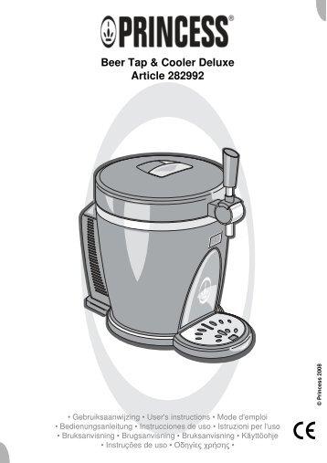 Beer Tap & Cooler Deluxe Article 282992 - Wehkamp.nl
