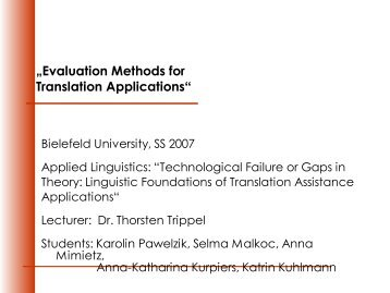Presentation in PDF format - Computational Linguistics and Spoken ...