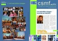 Universités d - CSMF