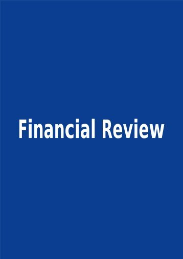 Financial Review - Singapore Press Holdings