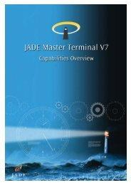JADE Master Terminal Capabilities Overview