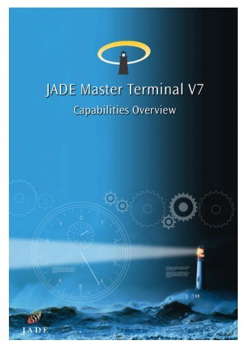 JADE Master Terminal Capabilities Overview