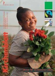 Rosen für ein besseres Leben - Kirchenblatt